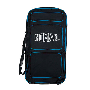 Nomad Transit Bodyboard Cover - Black / Blue - Nomad Bodyboards