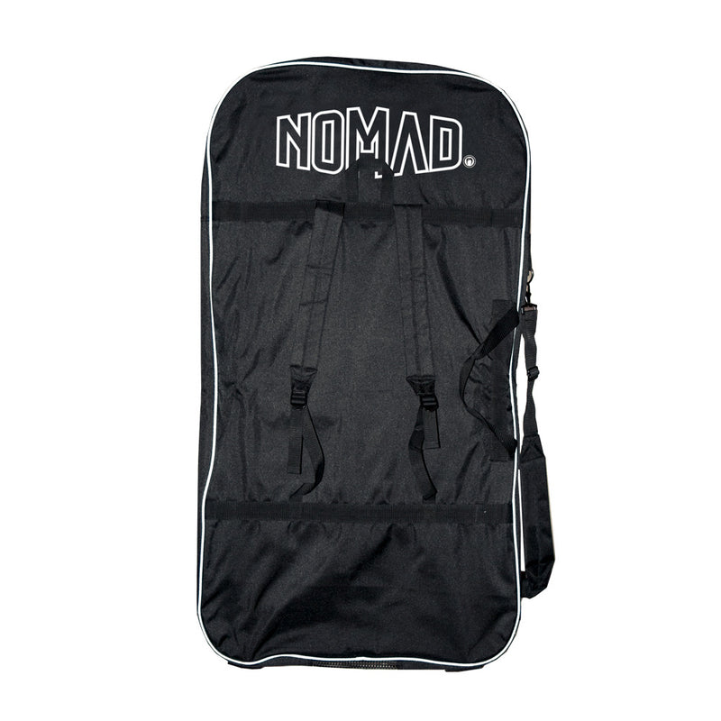Nomad Transit Bodyboard Cover - Black / White - Nomad Bodyboards