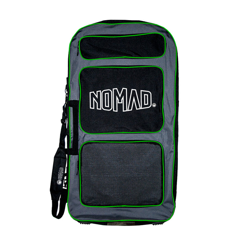 Nomad Transit Bodyboard Cover - Grey / Black / Lime - Nomad Bodyboards