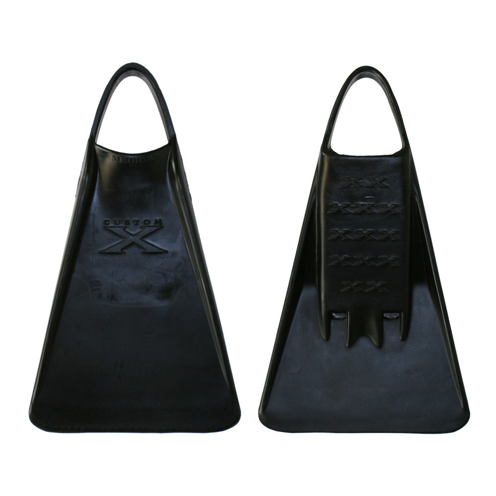 X FIN - Black - Nomad Bodyboards