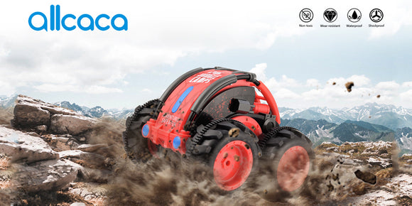 ALLCACA-RC-Stunt-Car-2.4GHz-RC-Car-Boat-Land-Water-Remote-Control-Off-road-Vehicle2