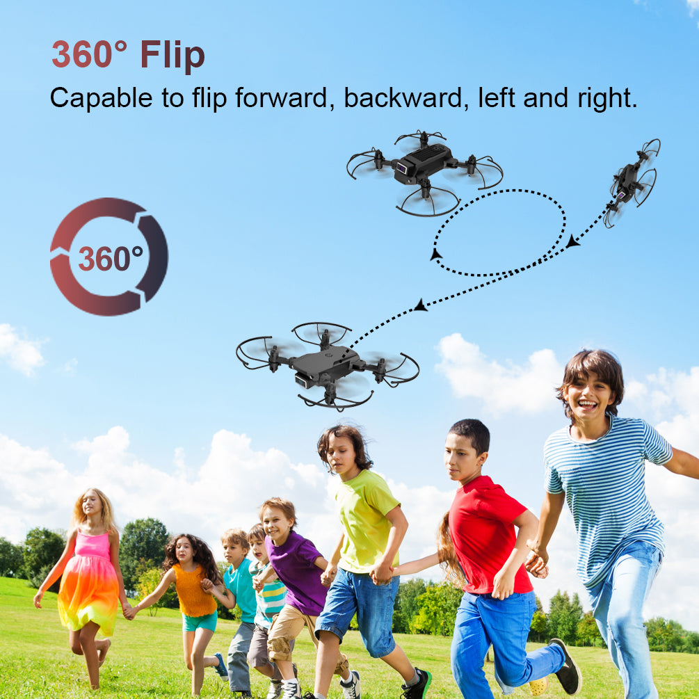 ALLCACA S66 Mini Drone RC Quadcopter Foldable Remote Control Drone with 4K Dual Cameras - ALLCACA