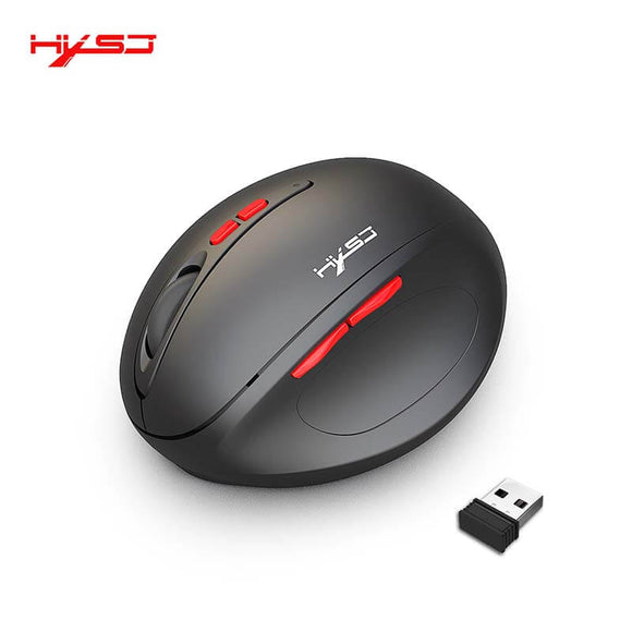 ALLCACA 2.4G Wireless Game Mouse Rechargeable Game Mouse with Ergonomic Design - ALLCACA