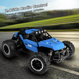 ALLCACA 2.4GHz High-speed Remote Control Car Boat 1/16 Scale RC Off-road Vehicle 4WD RC Stunt Car for Kids, Blue - ALLCACA