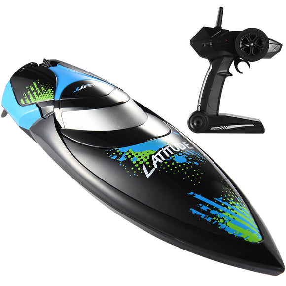 ALLCACA RC Boats 2.4Ghz Remote Control Boat, Black - ALLCACA