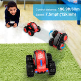 ALLCACA RC Stunt Car 2.4GHz RC Car Boat Land Water Remote Control Off road Vehicle - ALLCACA