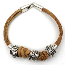 Handmade Cork Bracelet woman accessories e bay amazon