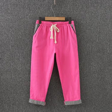 Plus Size -4XL Cotton Pants