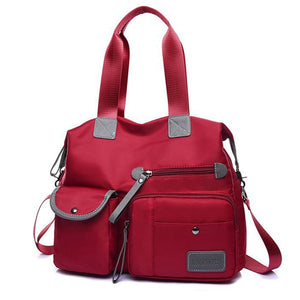 Waterproof Bag With  Large Pocket woman bag red bag dark blue bag e bay amazon