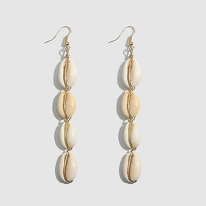 Summer Earrings With Shell