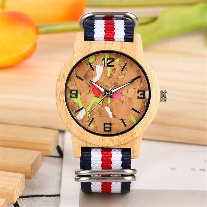 Design  Wooden Women's Watch trendy Watch e bay amazon