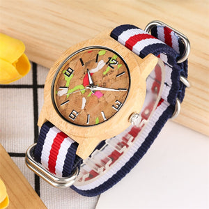 Trendy  Wooden Women's Watch