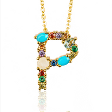 Fashion Gold Necklace  Choose your monogram