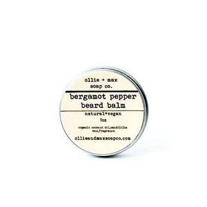 Bergamot Pepper Vegan Beard Balm