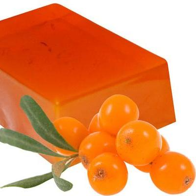 Organic Sea Buckthorn Soap. Natural SLS Free.