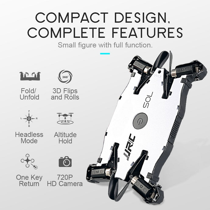 Fairy Tail 3 - Ultra Thin Foldable Selfie Drone