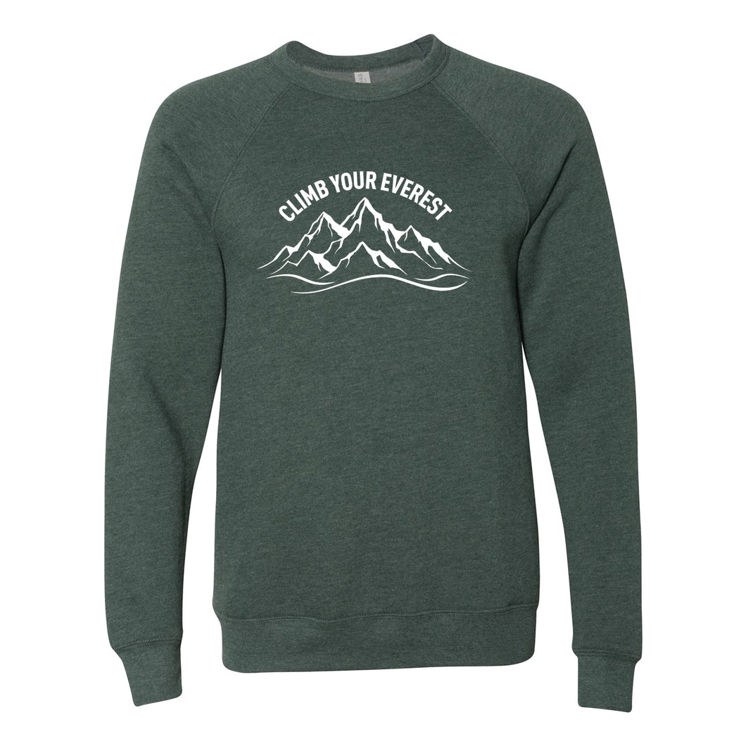 Climb Your Everest Unisex Campfire Sweatshirt
