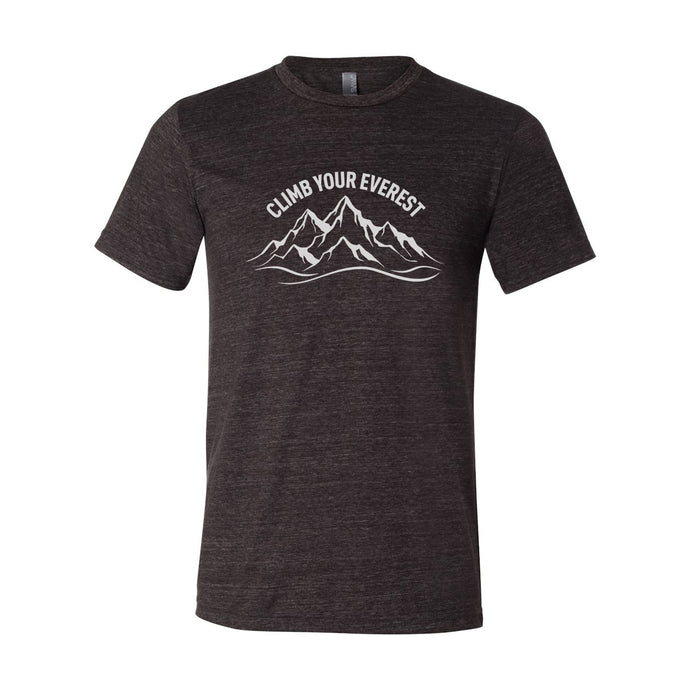 Climb Your Everest Unisex Soft Tri Blend T-Shirt