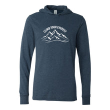 Load image into Gallery viewer, Climb Your Everest Unisex Lightweight Hoodie