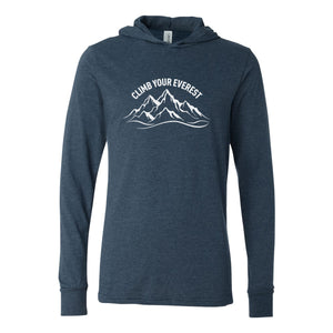 Climb Your Everest Unisex Lightweight Hoodie