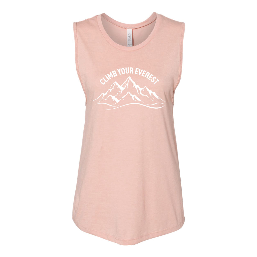 Climb Your Everest Muscle Tank Top