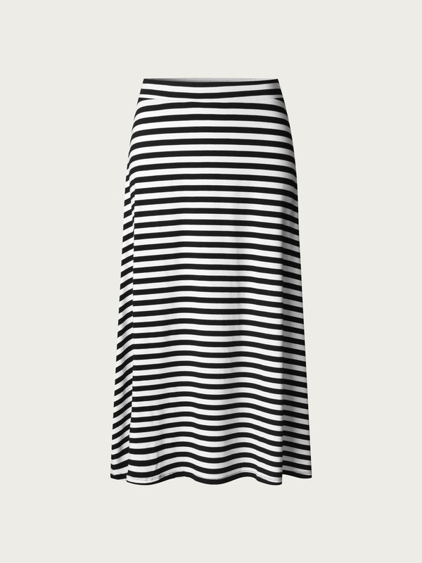 Comfy Copenhagen ApS Hopes And Dreams Skirt Black / White Stripe