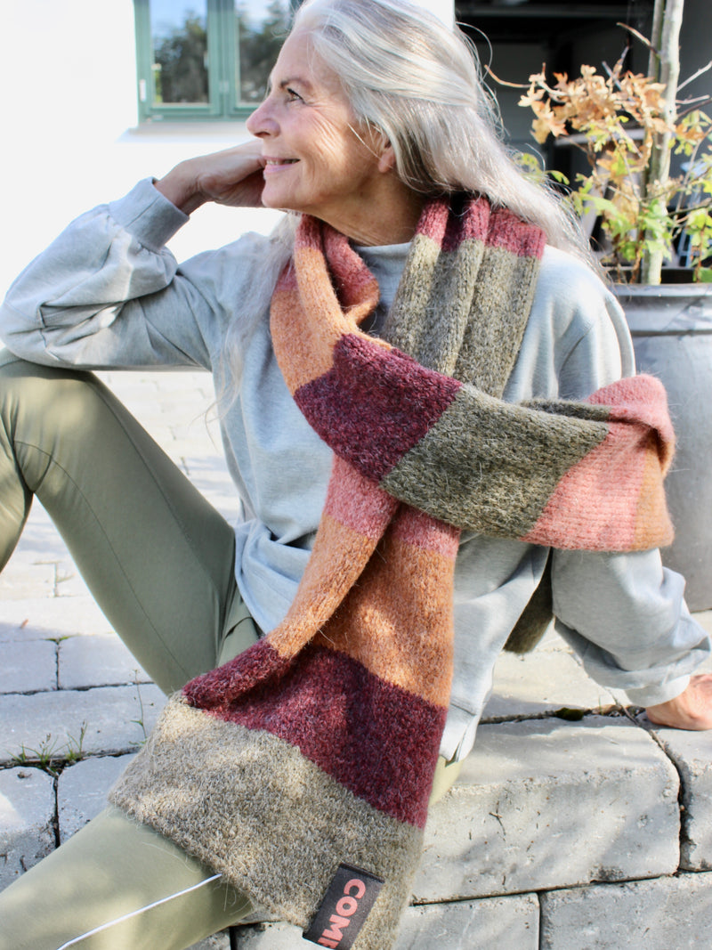 Comfy Copenhagen ApS Please Me Scarf Dusty Rose Mix