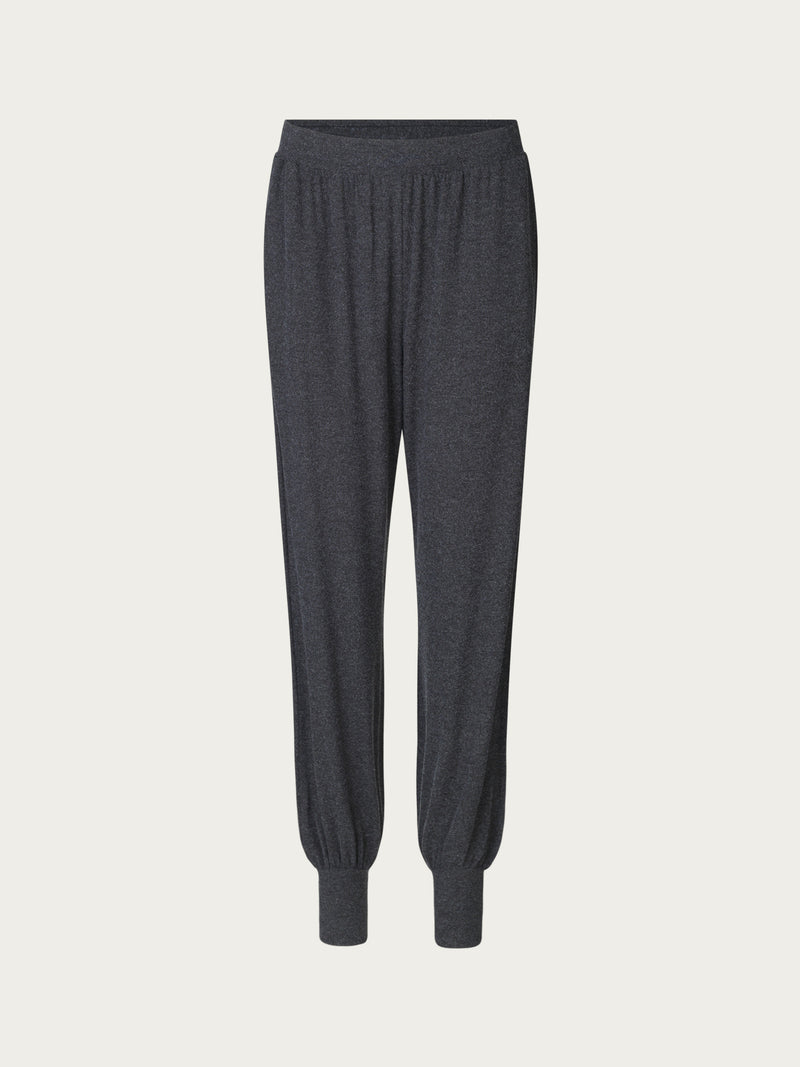 Comfy Copenhagen ApS Yoga Mood Pants Dark Grey Melange