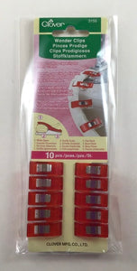 Wonder Clips Red 10pc