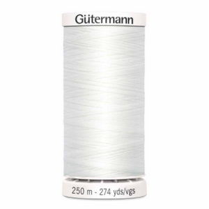 Gutermann All Purpose Thread White