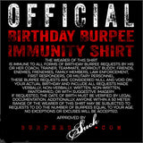 127BS - BIRTHDAY IMMUNITY - DTG CLASSIC