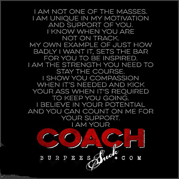 135BS - I AM YOUR COACH - CLASSIC