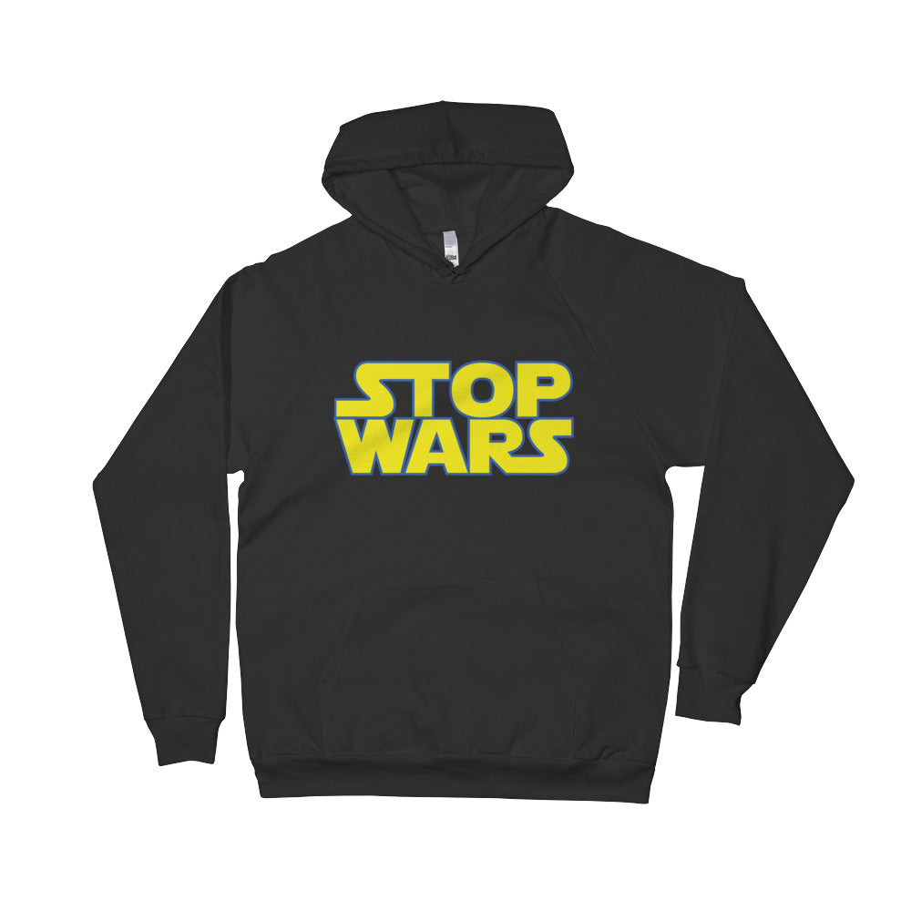Stop Wars Hoodie - Only At Krooked Panda