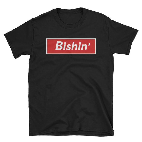 Bishin' Unisex Tee Shirt - Only At Krooked Panda