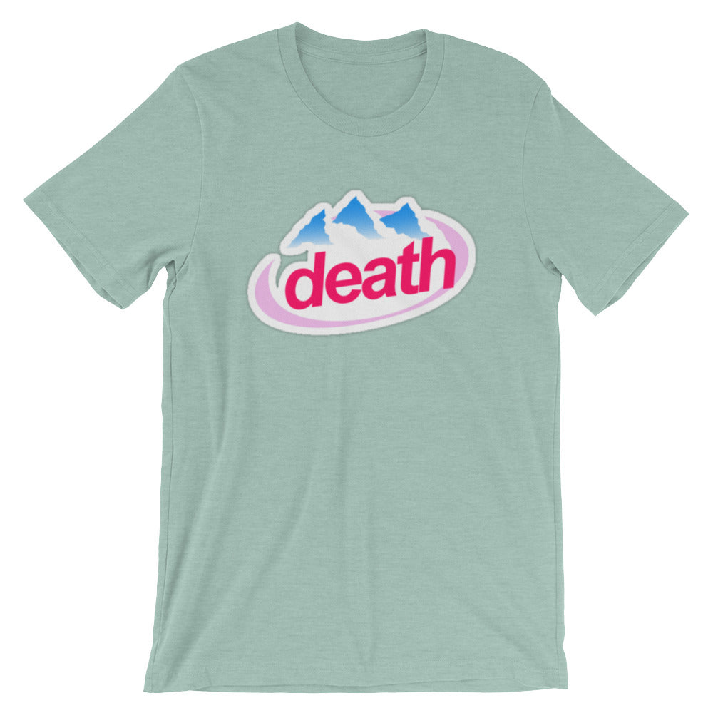 Death Unisex T-Shirt - Only At Krooked Panda