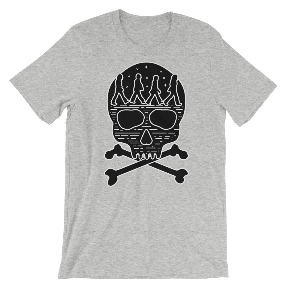 The Beatles Abbey Road Skull Tee - Only At Krooked Panda