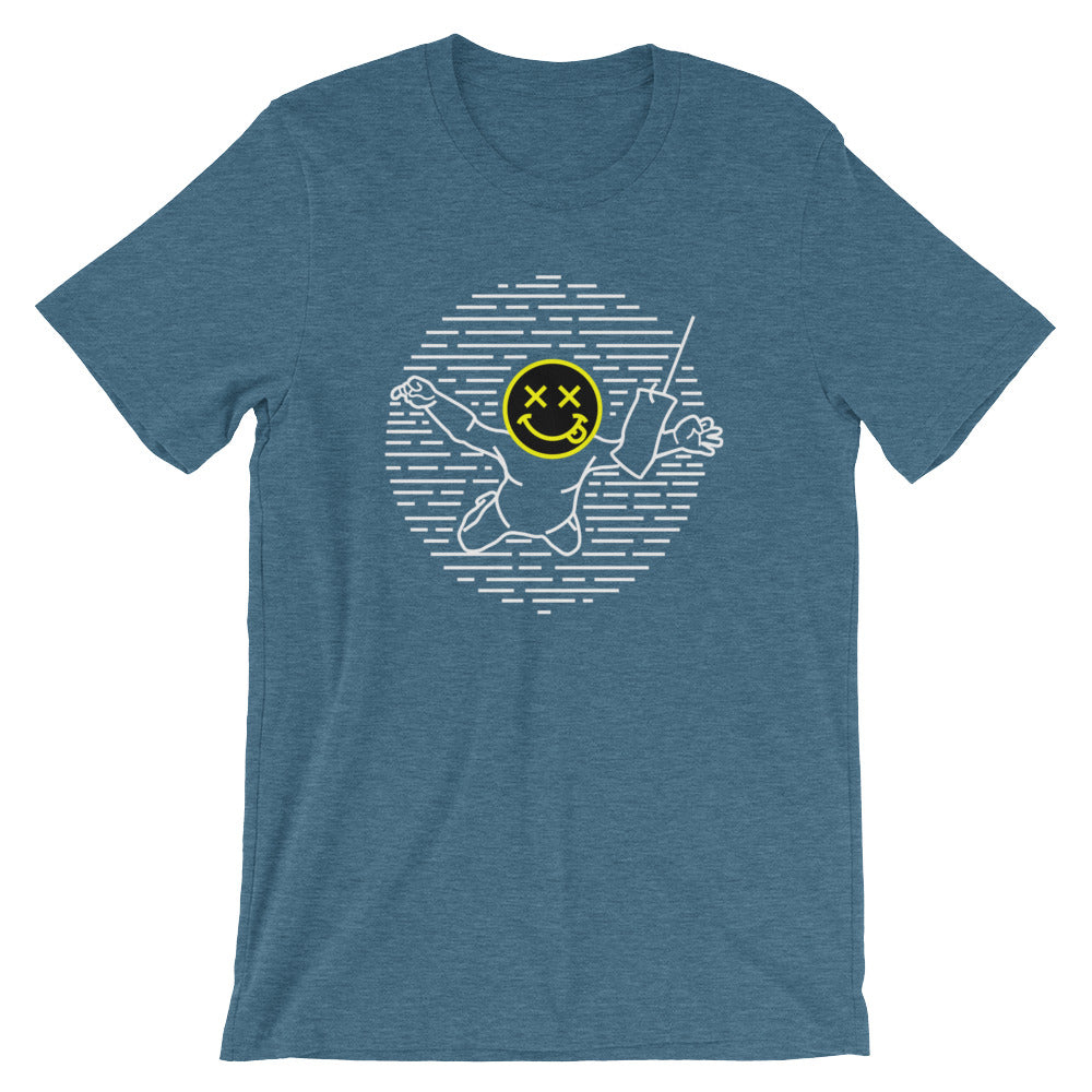 Nevermind Unisex T-Shirt - Only At Krooked Panda