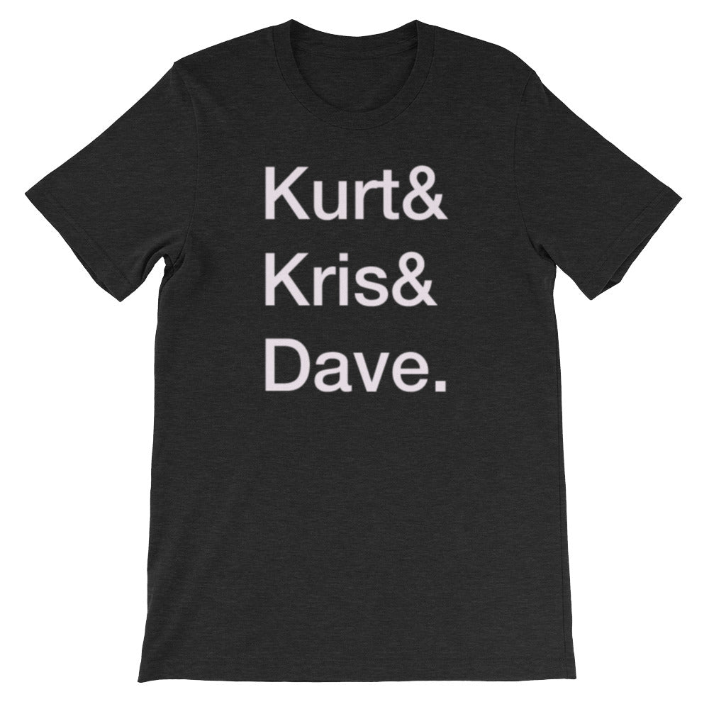 Nirvana Helvetica List Tee - Only At Krooked Panda