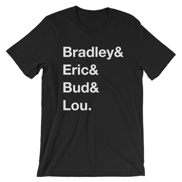 Sublime Helvetica List Unisex Tee - Only At Krooked Panda