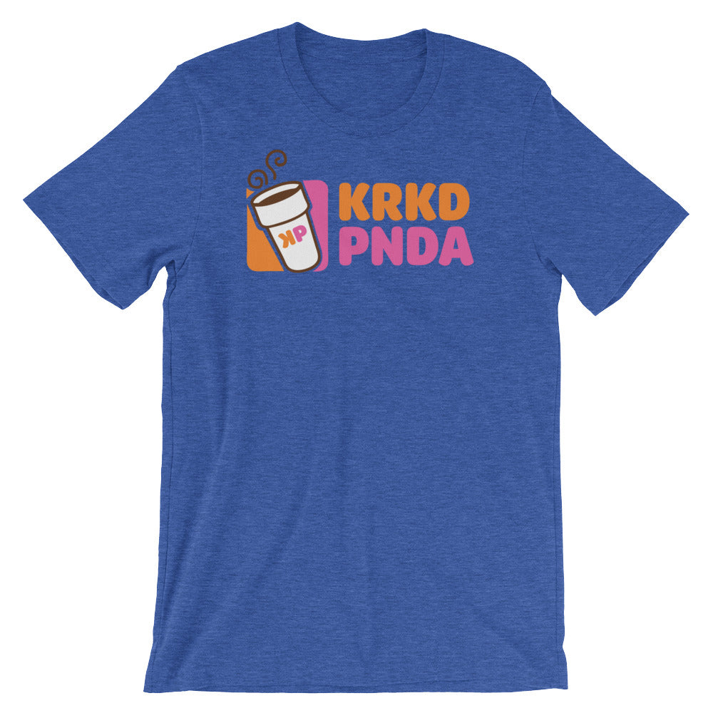 KRKD PNDA DNTS Unisex Tee - Only At Krooked Panda