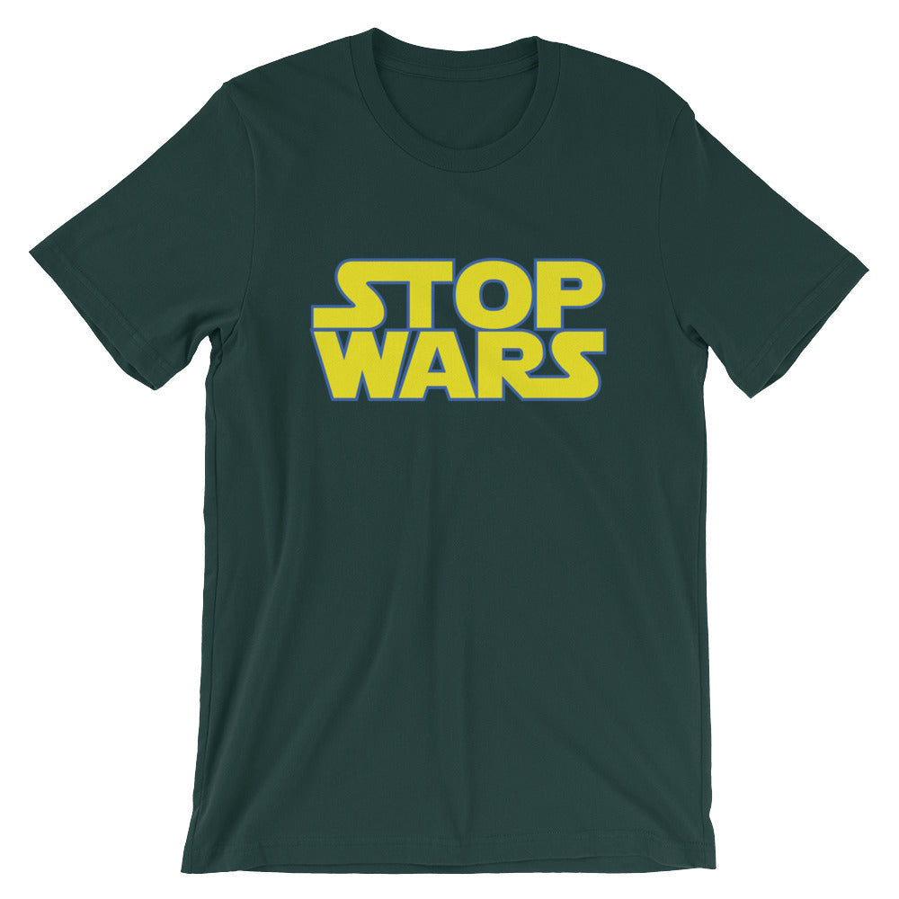 Stop Wars Tee - Only At Krooked Panda
