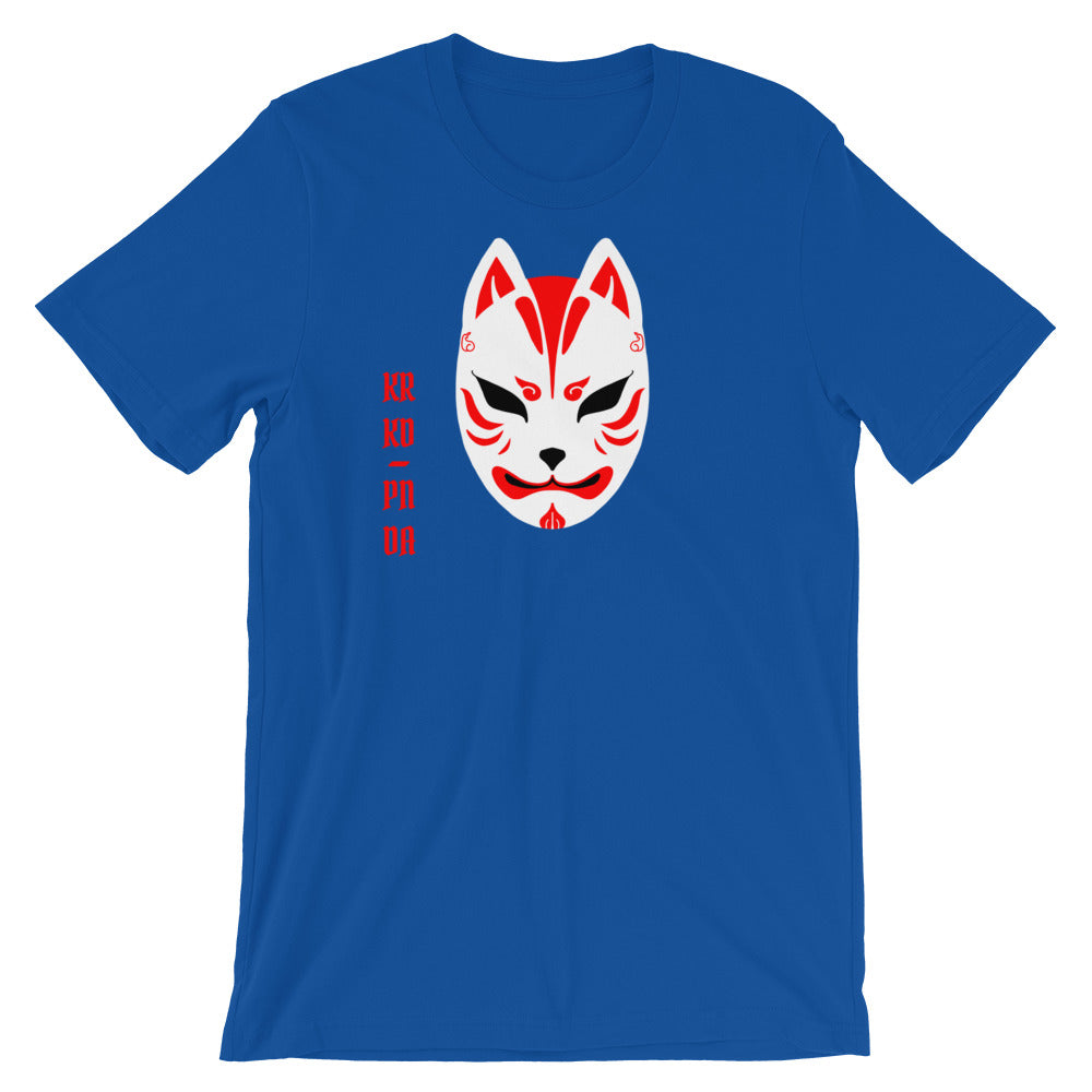 KRKD PNDA Kitsune Unisex T-Shirt - Only At Krooked Panda