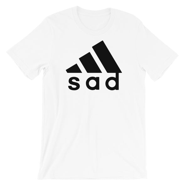 Sad Parody Unisex T-Shirt - Only At Krooked Panda