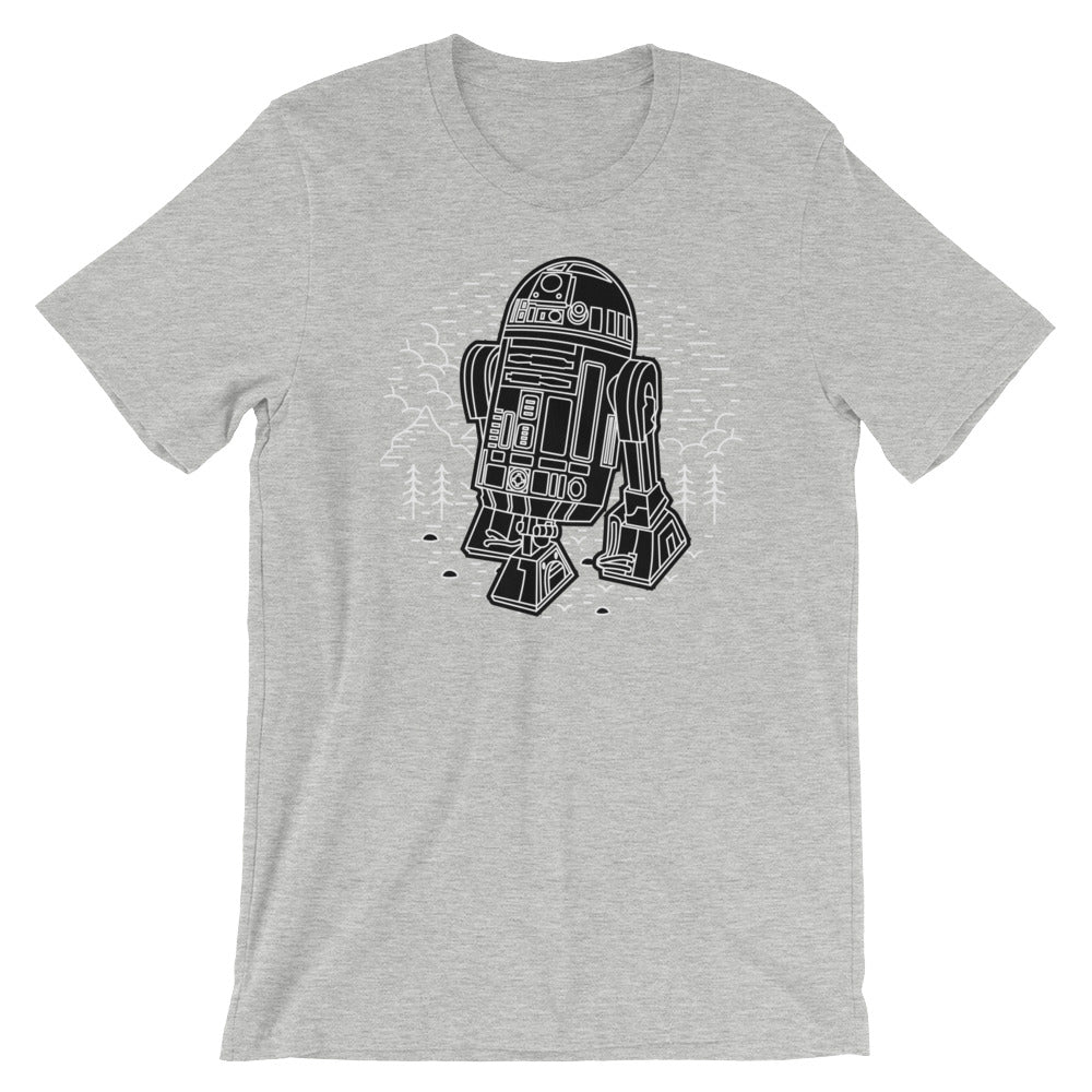 R2-D2 Unisex T-Shirt - Only At Krooked Panda