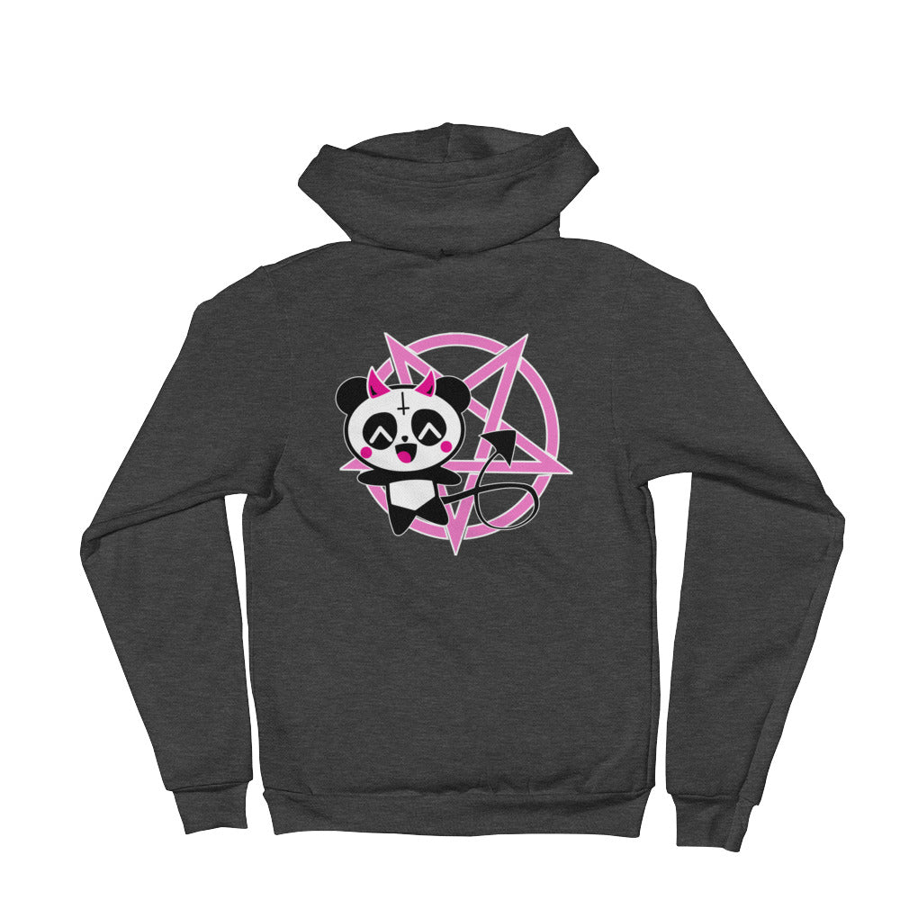 KP Kawaii Panda Devil Hoodie - Only At Krooked Panda