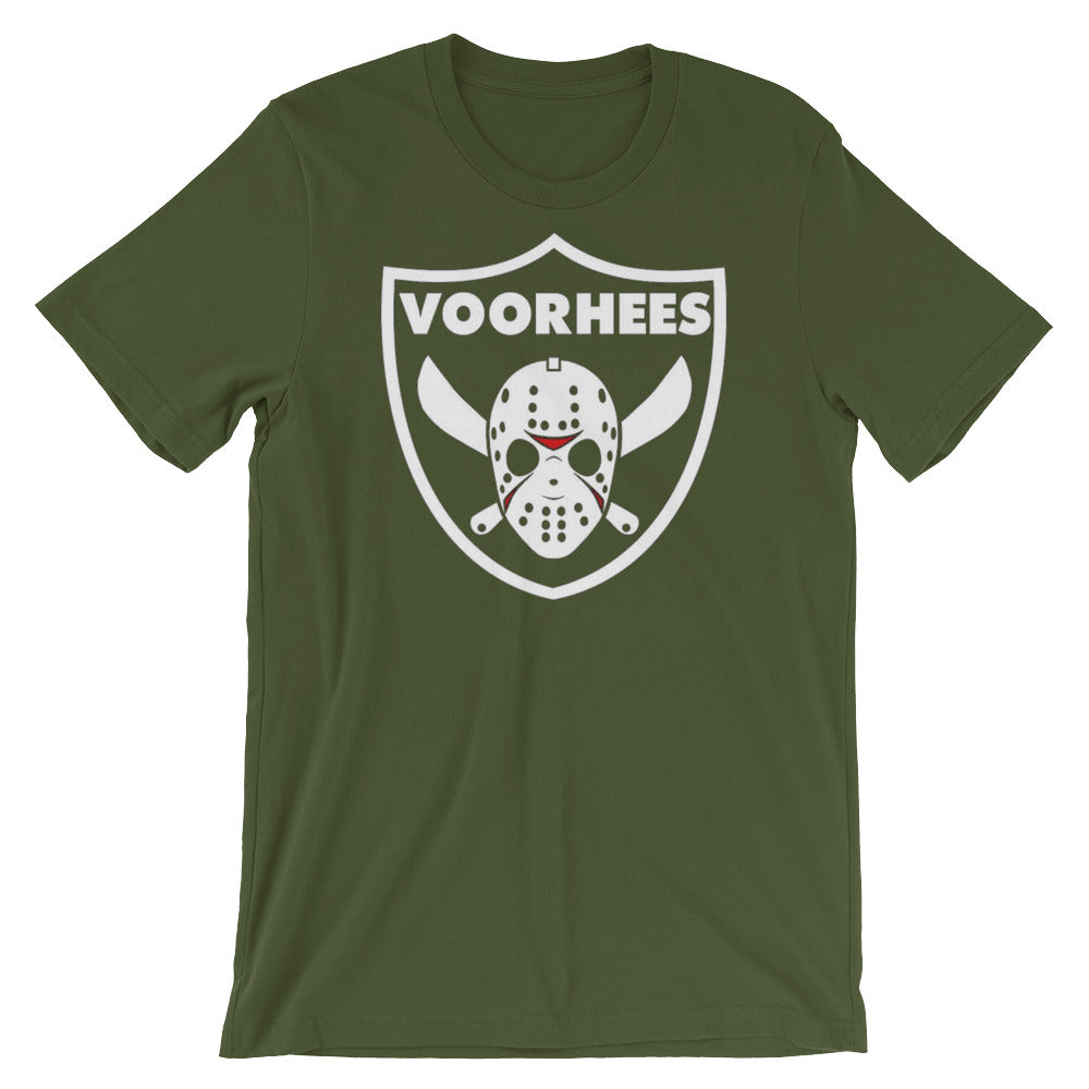 Voorhees Raiders Tee - Only At Krooked Panda