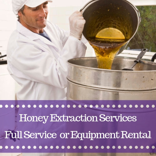 Gypsy Shoals Farm honey extraction services equipment rental beekeeping honey flow harvesting