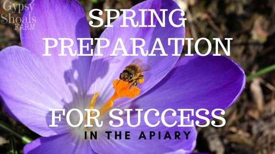 spring preparation for success in the honeybee apiary