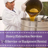 Honey Extraction Services | Self-Service or Full-Service