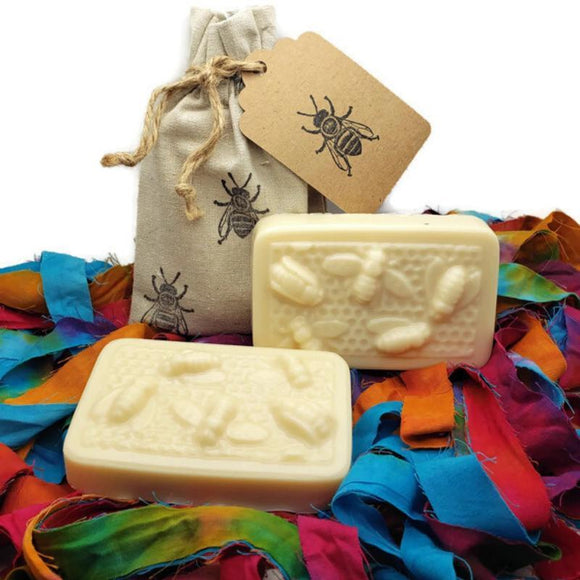 goats milk raw honey soap 4 oz all natural gift box gypsy shoals farm